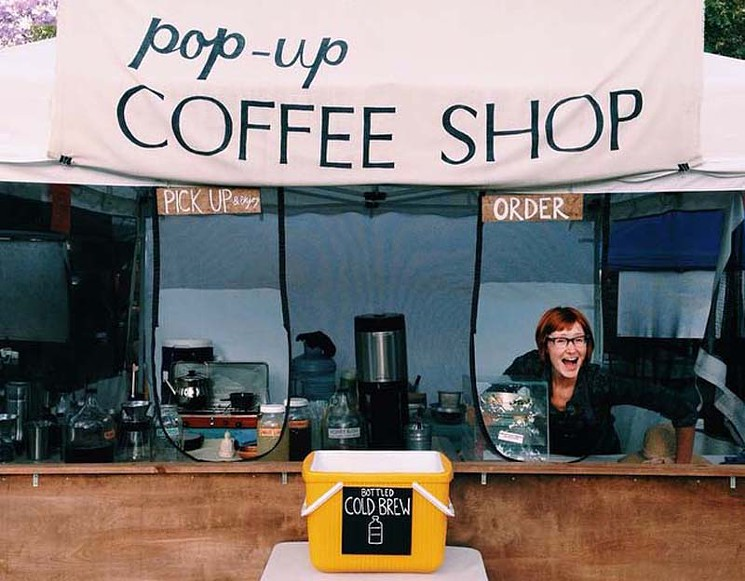 Pop-Up Coffee Shop!