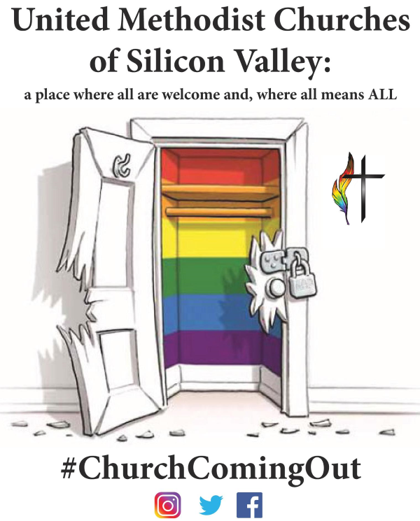 Church Coming Out! at SV Pride