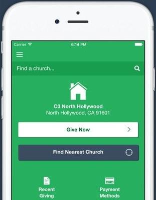 Give via Mobile!